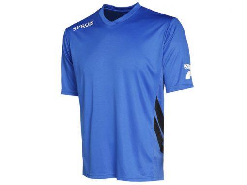 Maglietta calcio royal blu