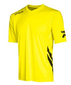 Maglietta calcio giallo fluo