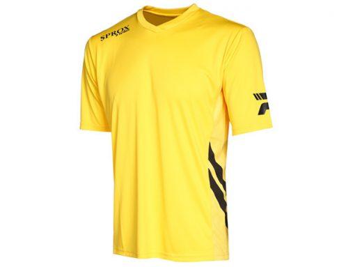 Maglietta calcio gialla
