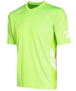 Maglietta calcio verde fluo