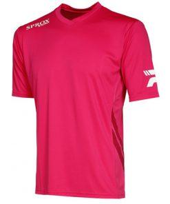 Maglietta calcio rosso blush