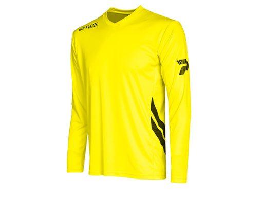 Maglia calcio giallo fluo