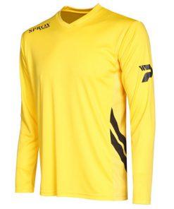 Maglia calcio gialla