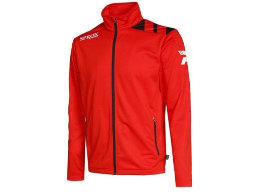 Giacca sportiva rosso/nero