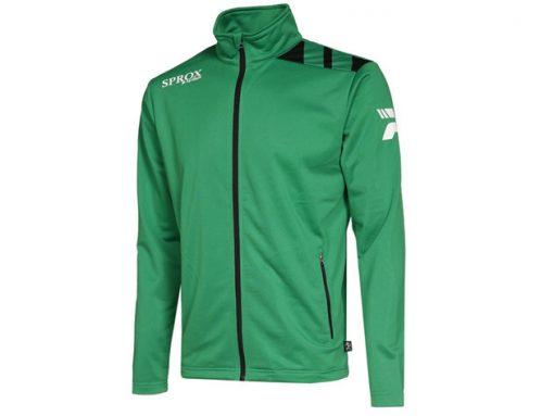 Giacca sportiva verde/nero
