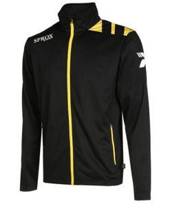 Giacca sportiva nero/giallo