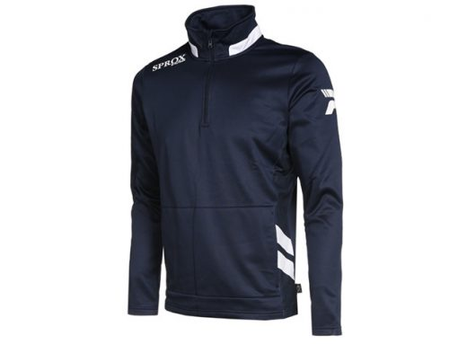 Felpa navy blu/bianco