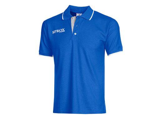 Polo royal blu