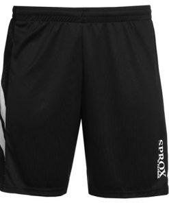 Pantaloncini calcio nero