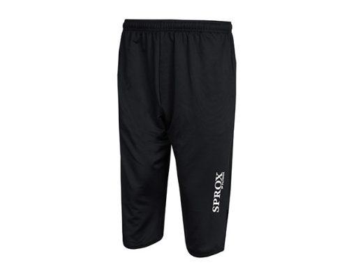 Pantaloni allenamento 3/4 nero