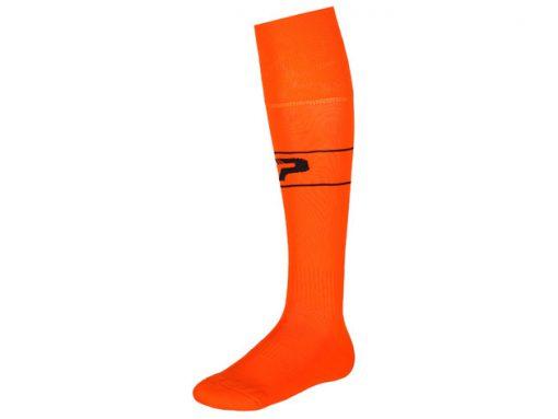 Calze con piede arancione