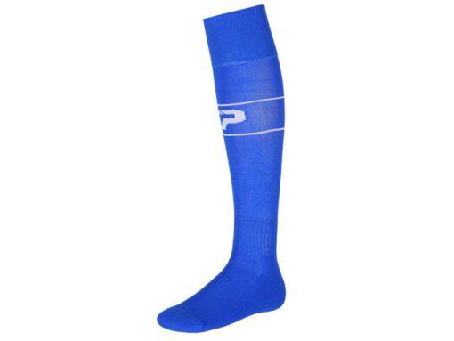 Calze con piede royal blu