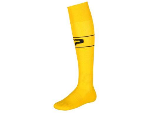 Calze con piede giallo